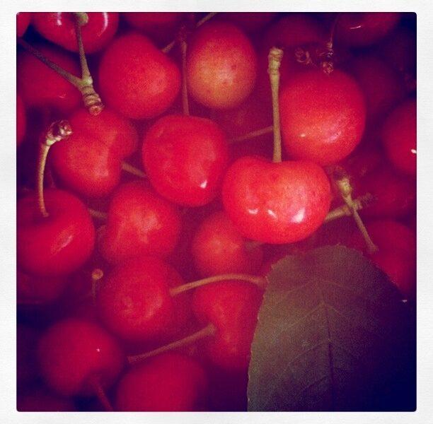 Körsbär i långa banor!
