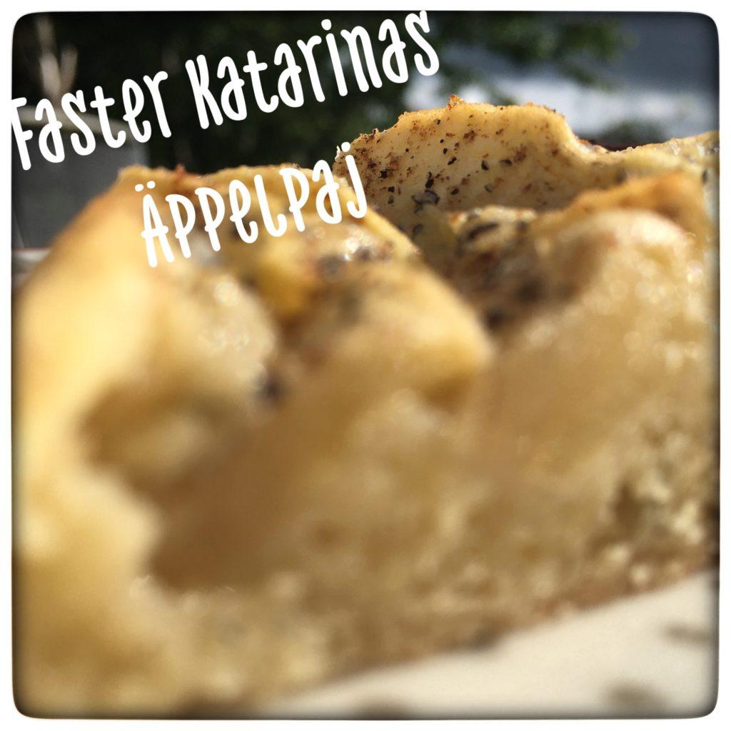 Faster Katarinas äppelpaj